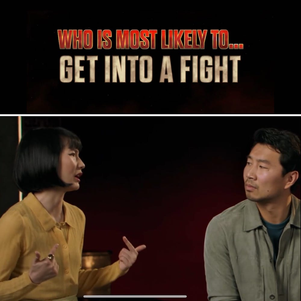 Meng'er Zhang is Most Likely to Get Into a Fight