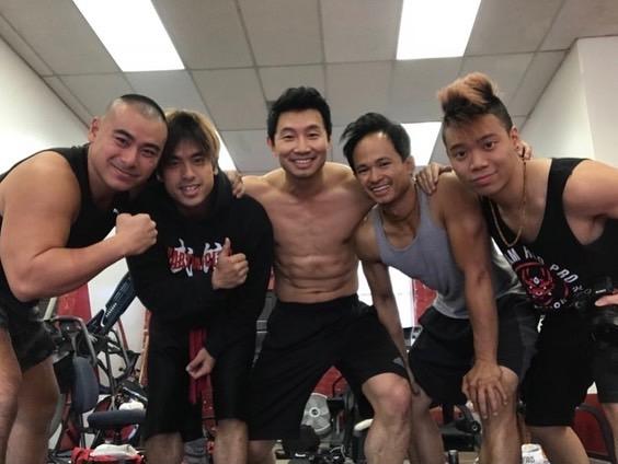 (L-R) Brian Le, Andy Le, Simu Liu, D.Y. Sao and Joseph Le