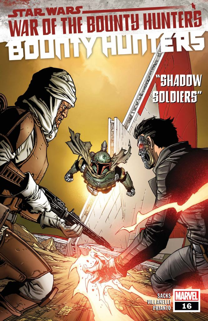 Star Wars: Bounty Hunters #16 Cover by Giuseppe Camuncoli