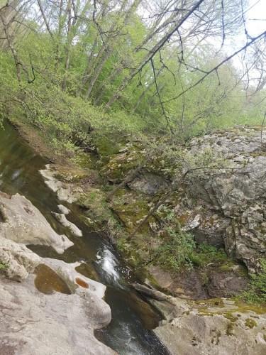 с.Казанка, местност Казането, Стара Загора, водопад