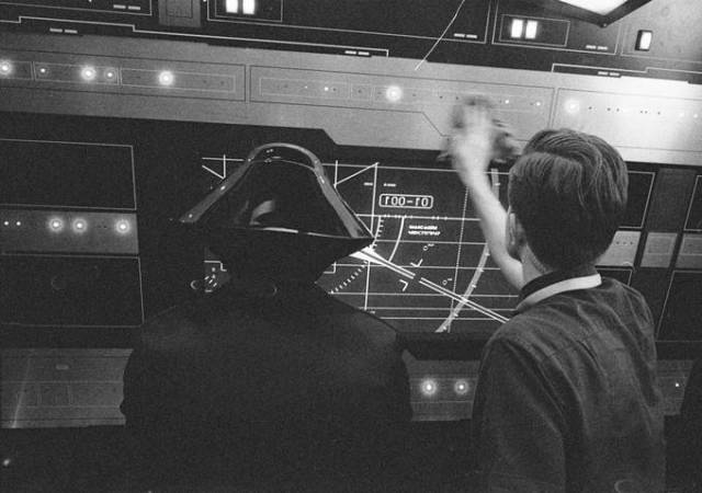 Star Wars Episódio VIII - Foto do set de filmagem