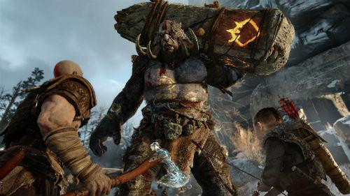 God of War, PS4, imagem do jogo