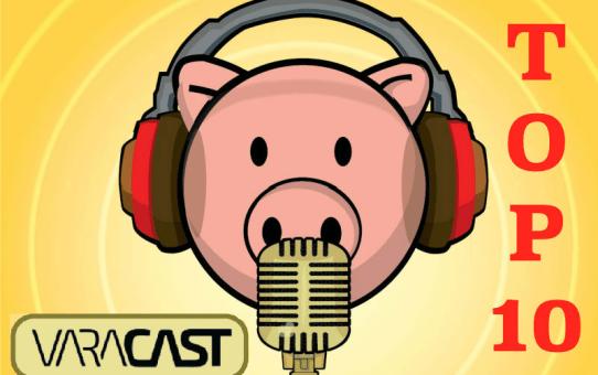 Top 10 | Podcasts mais ouvidos da POCILGA