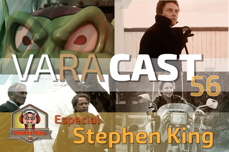Varacast #56   Especial Stephen King