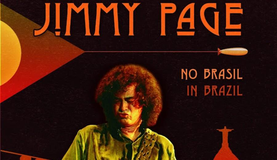 Resenha de Livro   Jimmy Page no Brasil