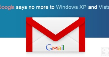 Gmail says no to Windows XP and Vista