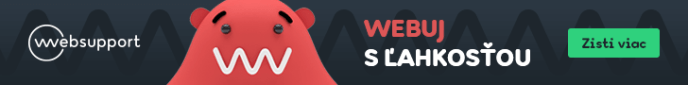 Sponzorvaný hosting od WebSupport.sk