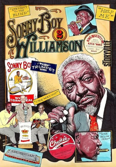 "Fred Carlson ""Sonny Boy Williamson II"""