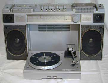 Turntable Boombox Vintage Electronics Have Soul The