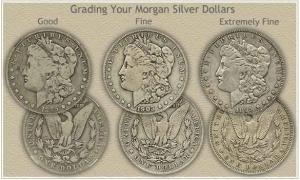 Morgan dollars grade example