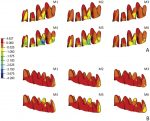Influence of the hyrax expander screw position on displacement and stress distribution in teeth: A study with finite elements