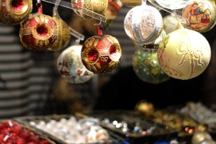 Christmas fair in Maria Theresa square