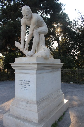 A statue. Greece.