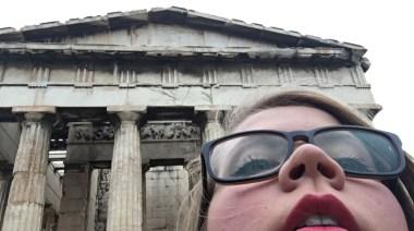 The Ancient Agora. Greece.