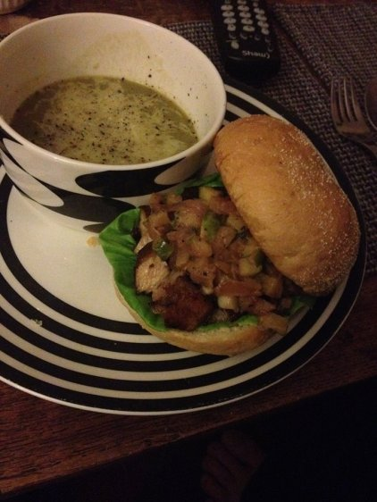 Braised Pork Belly & Apple Onion Relish