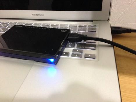 カクうすHDPE-UT1.0-USB3.0モード