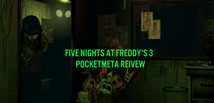 Five Nights At Freddy's 3 Review  Par For The Course