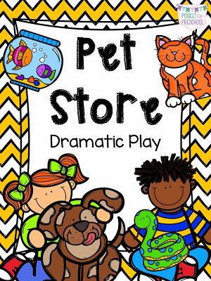 Pet Store Dramatic Play  Pocket of Preschool