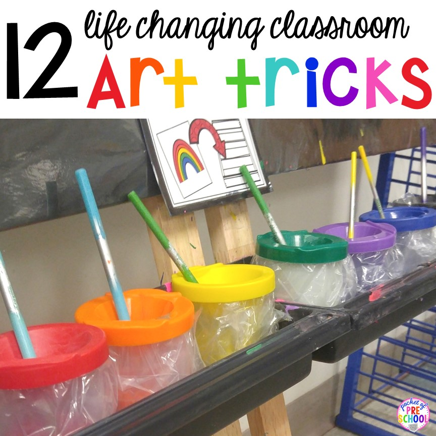 12 life changing classroom art hacks