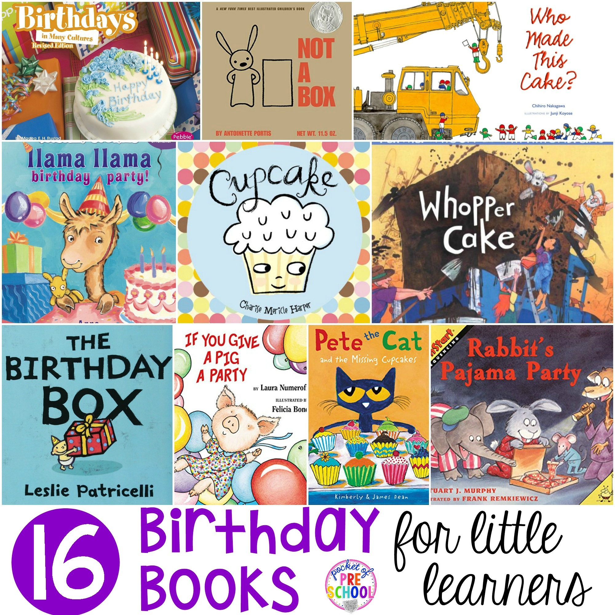 Birthday Books For Little Learners