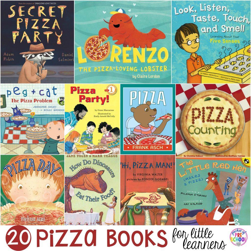 Pizza Themed Centers For Preschool Pre K And Kindergarten