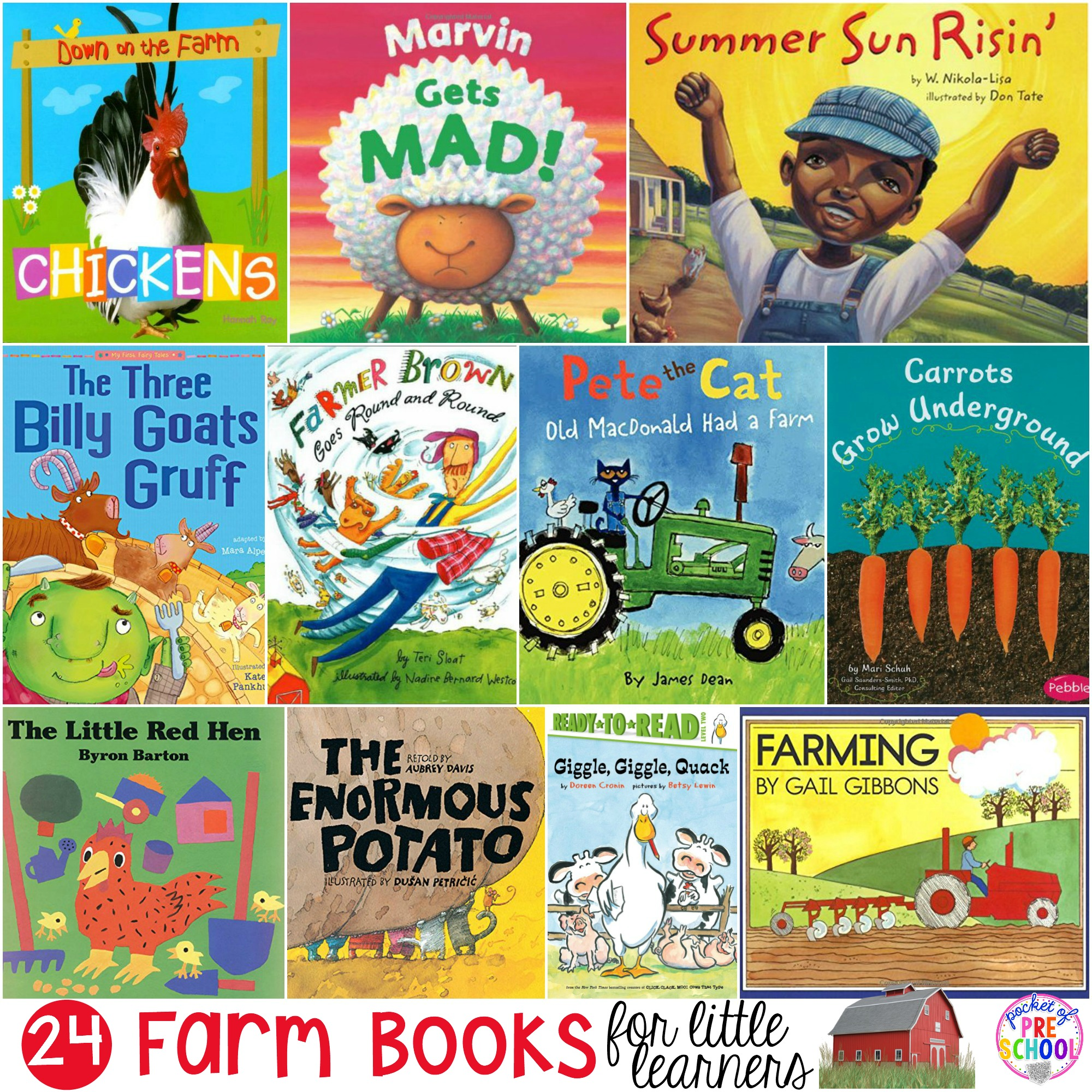 Farm Books For Little Learners