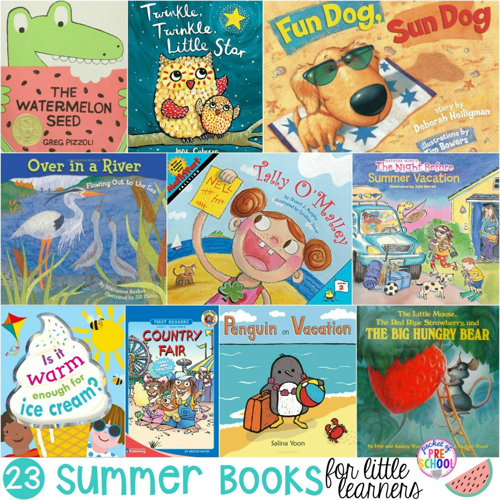 Summer Books For Little Learners