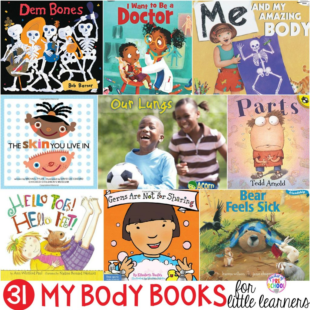 Me And My Body Books For Little Learners