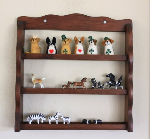 Up-cycle your old spice rack