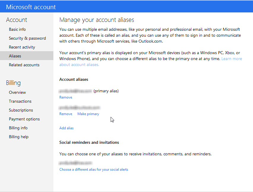 You Can Change Your login Email Address on your Microsoft Account