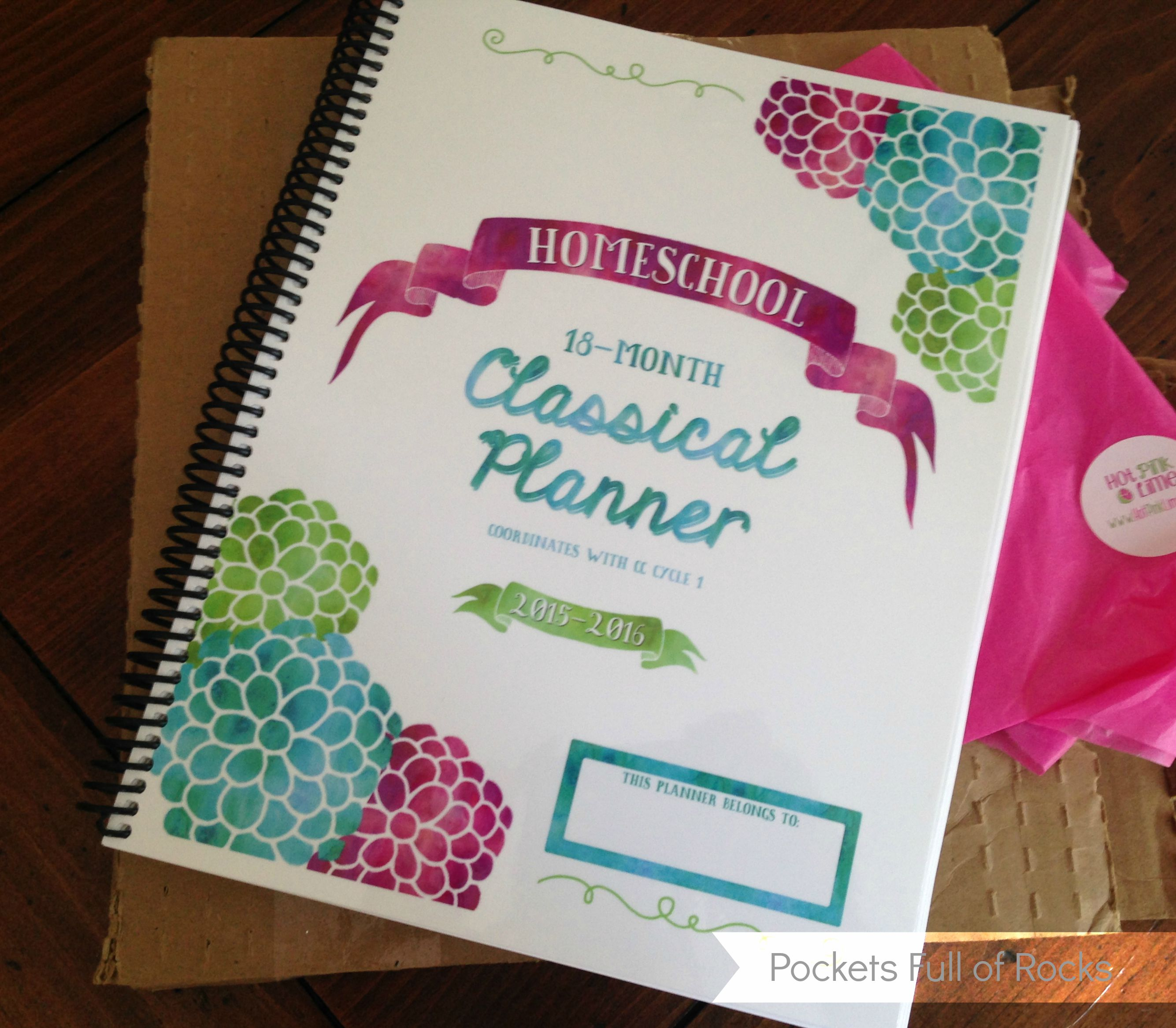 Homeschool Classical Planner Review Giveaway