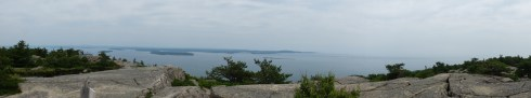 View from Champlain Mt.