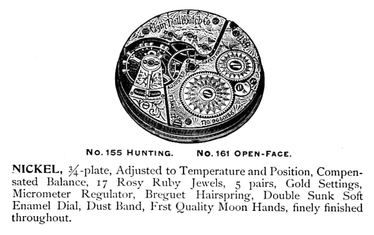 Elgin Pocket Watch: Serial Number 6462823 (Grade 155)