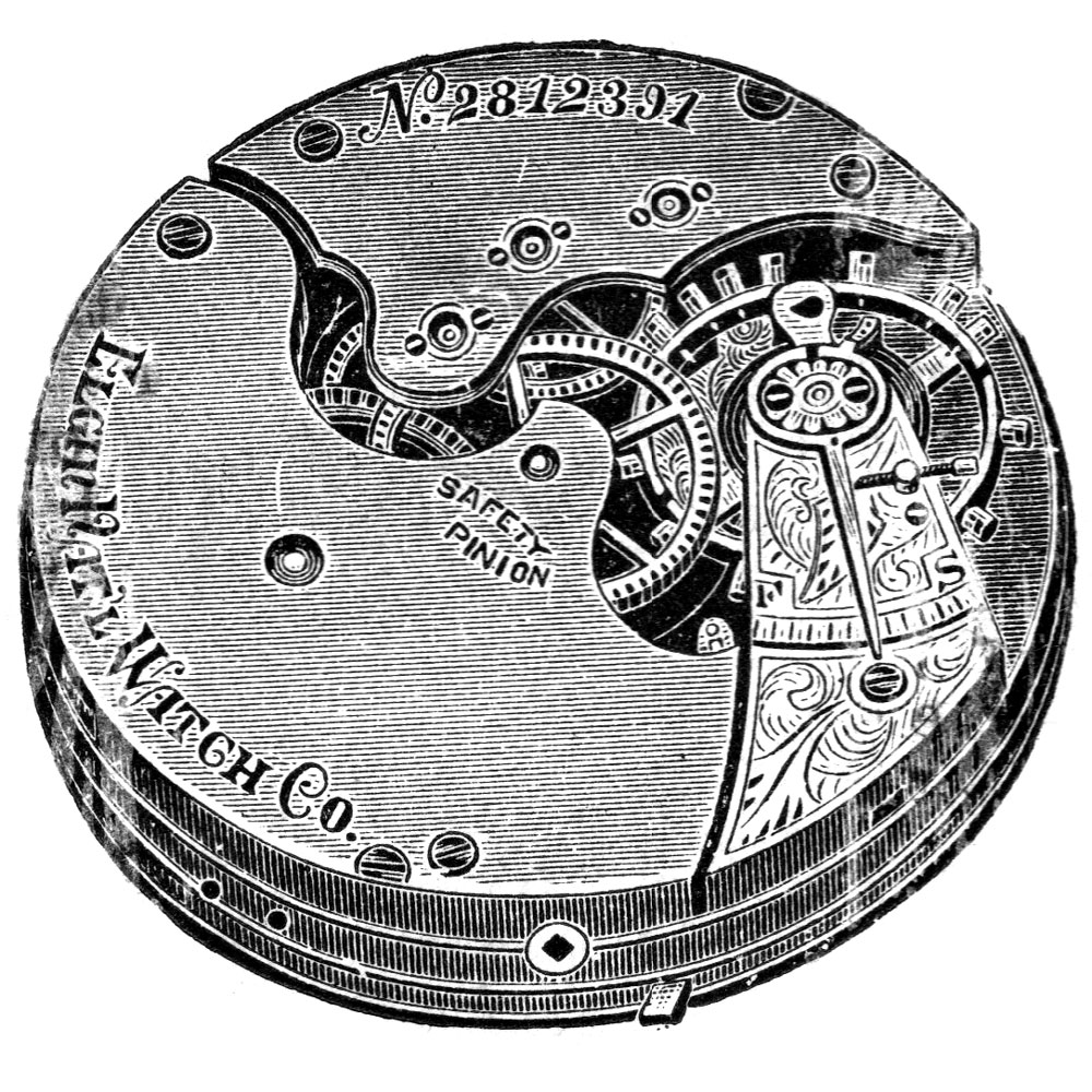 Elgin Pocket Watch Information: Serial Number 5281778