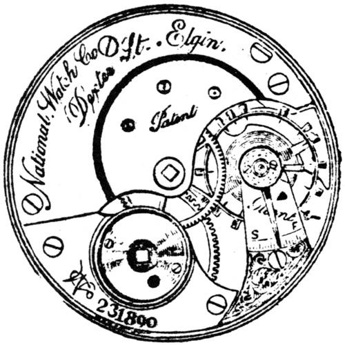 Elgin Pocket Watch Information: Serial Number 704680