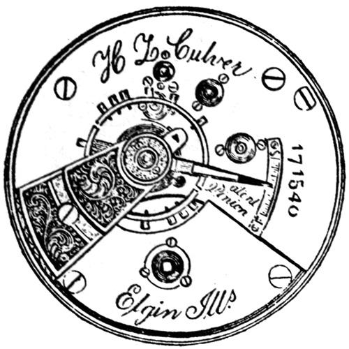 Elgin Pocket Watch Information: Serial Number 174119