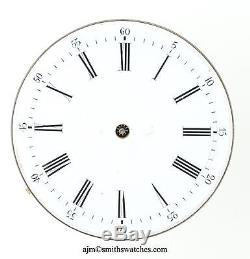 Swiss Lever Pocket Watch Movement Very High Grade Spares
