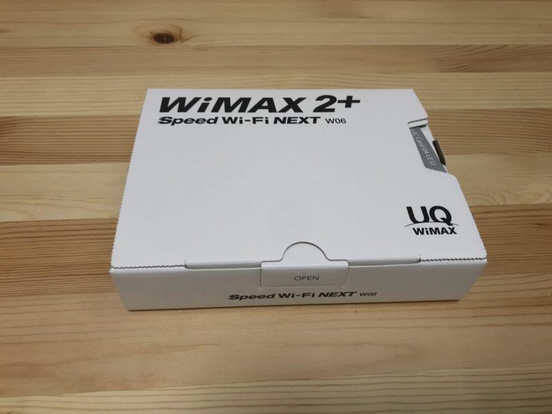 Speed WI-Fi NEXT W06