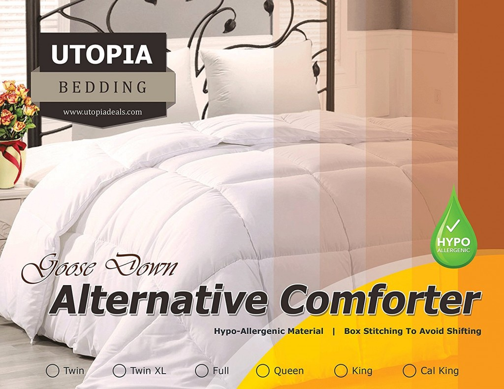 Amazon: Utopia Bedding Quilted Comforter
