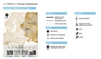 Tavola di Notazione - Legenda Mappa Complessiva