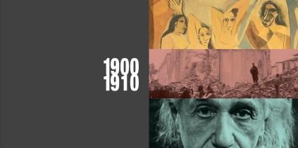 '900 il secolo breve - inizio capitolo (doppia pagina)