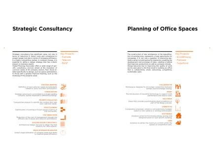 Esempio doppia pagina di presentazione servizi