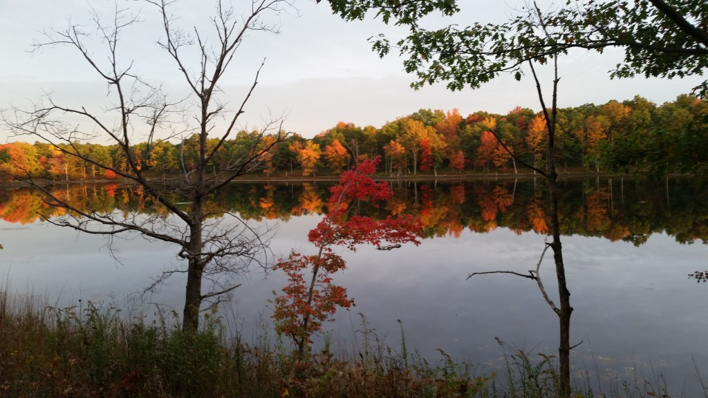 Glen Summit Black Diamond Trail - Poconos Fall Foliage Bike Tours