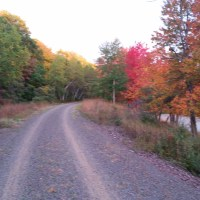 10-17-14 New Black Diamond Rail Trail White Haven PA