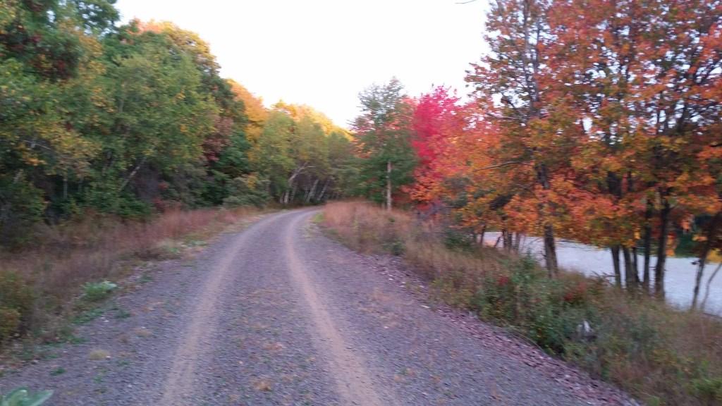 Black Diamond Rail Trail Glen Summit PA - Poconos Fall Foliage Bike Tours