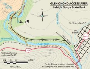 Glen Onoko Map