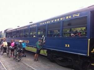Jim Thorpe Fall Foliage Train Ride to White Haven Poconos PA