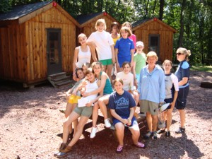 boy scouts and girl scouts group camping and outdoor adventures