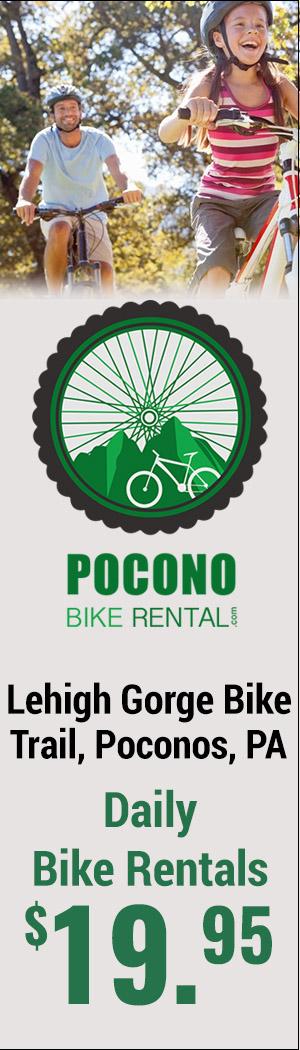 Pocono Bike Rentals and Shuttle Service