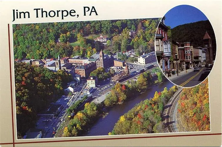 Jim Thorpe, PA Biking